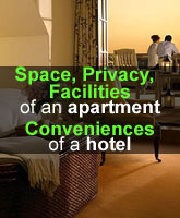 Space-privacy-Facilities of apartment in Prague,Bratislava,Nitra